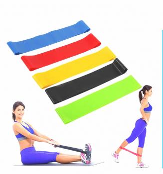 Фитнес резинки набор из 5 шт